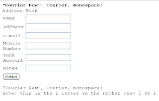courier new, courier, monospace