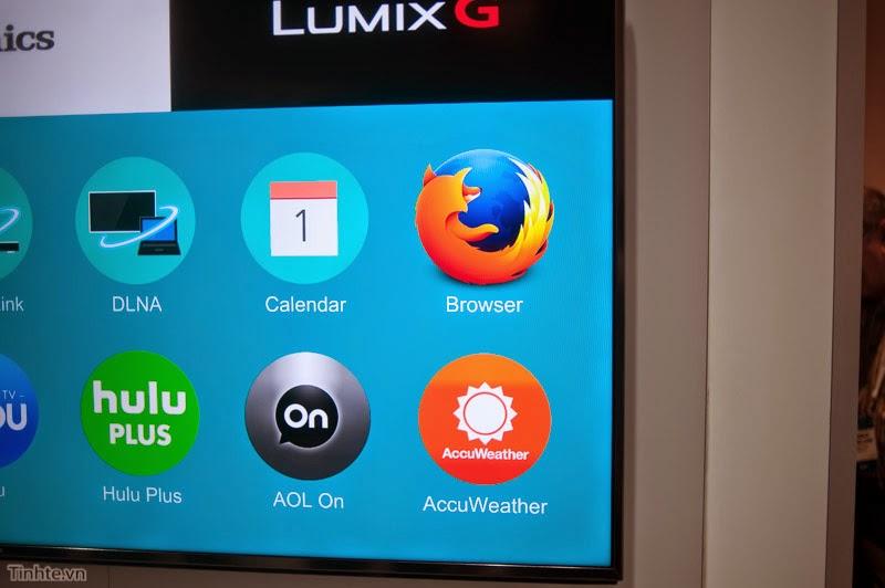 Giới thiệu Firefox OS trên TV 4k của Panasonic