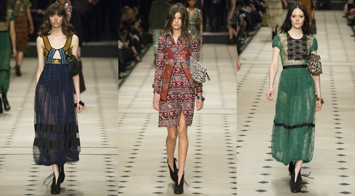 Burberry Prorsum AW15 London Fashion Week