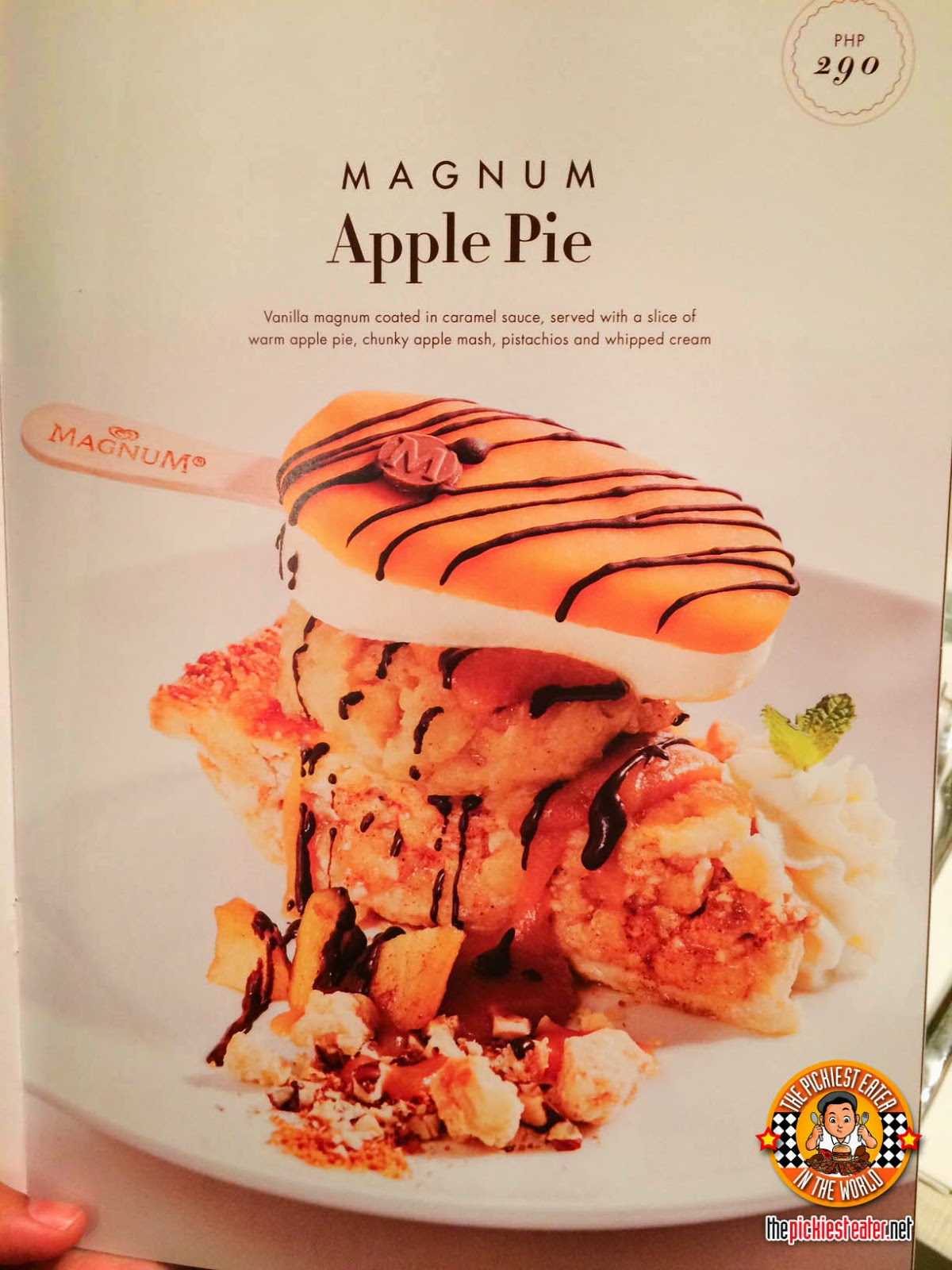magnum dessert menu