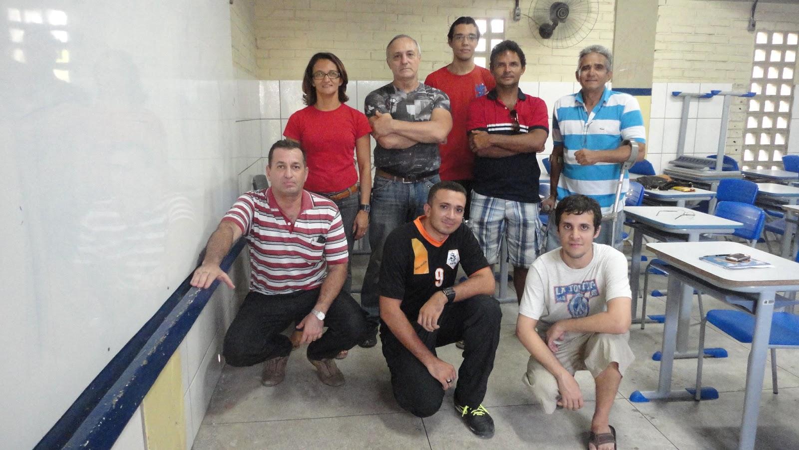 Foto Curso de Primeiros Socorros, ministrado pelo professor Hélio Simões, para alguns alunos de Karatê da Academia ARENA, em janeiro de 2013