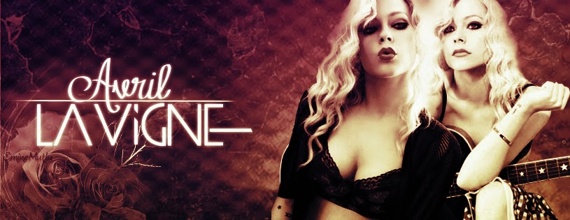 Sensational Facebook Cover Of Avril Lavigne.