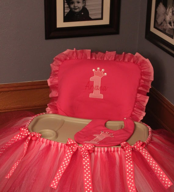 Bella Home: DIY Highchair Tutu