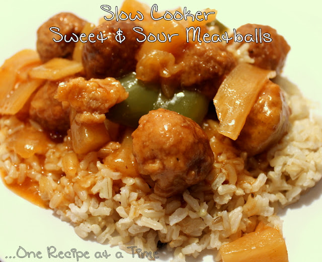 ... the Ropes...One Recipe at a Time: Slow Cooker Sweet and Sour Meatballs