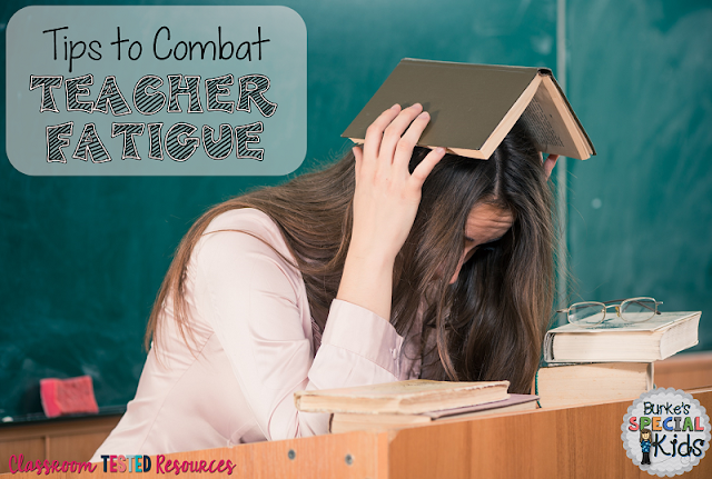 Tips to combat teacher fatigue