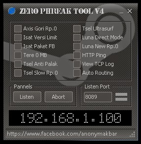 Inject All Operator Zero Phreak Tool V4 22 Juli 2014