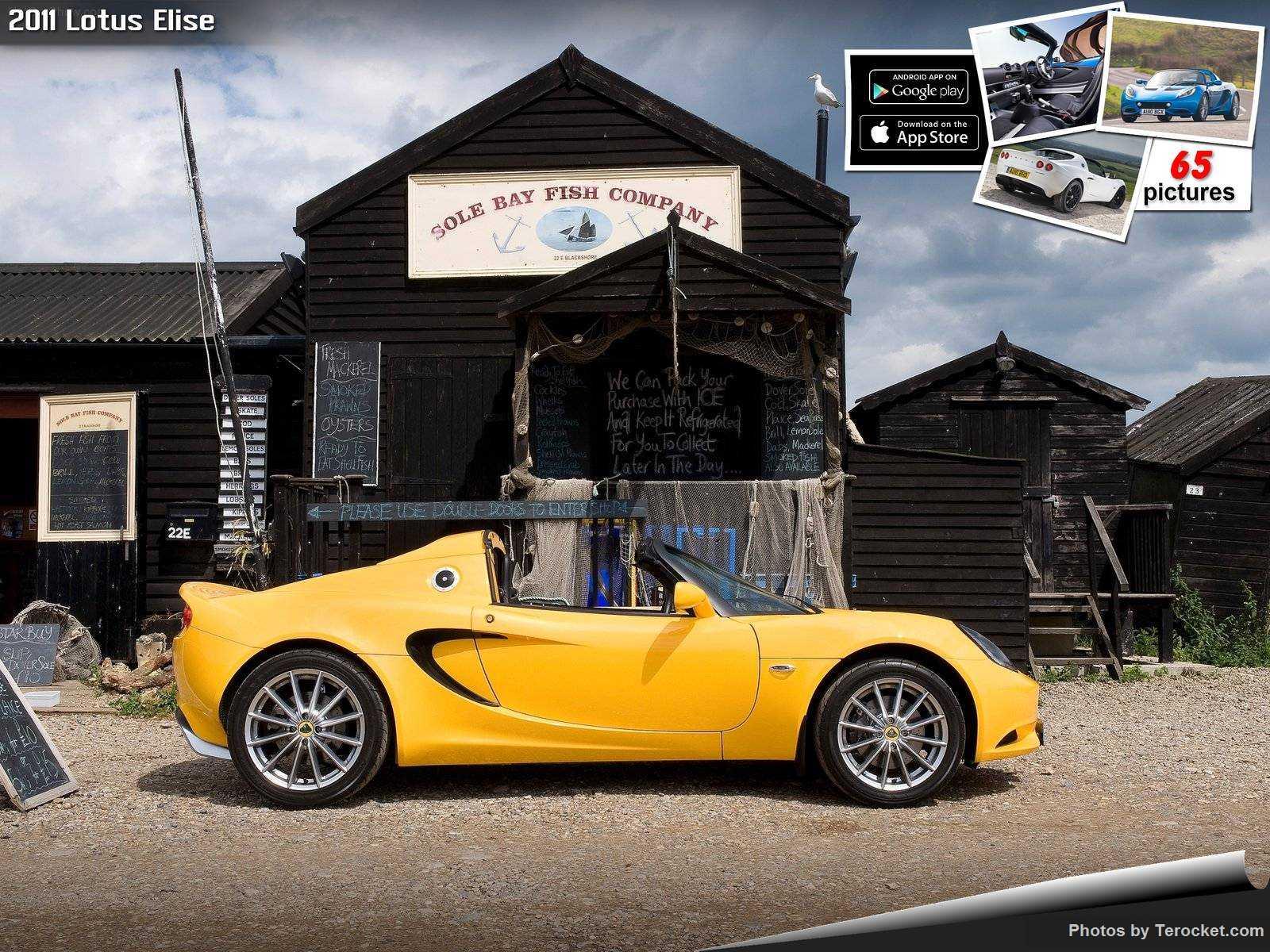 Hình ảnh siêu xe Lotus Elise 2011 & nội ngoại thất