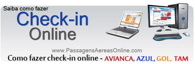 Veja como fazer check-in online - AVIANCA, AZUL, GOL e TAM