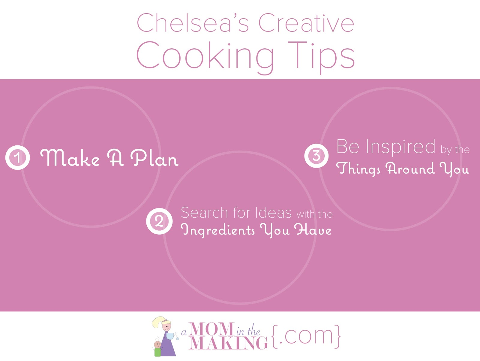 Chelsea's Creative Cooking Tips