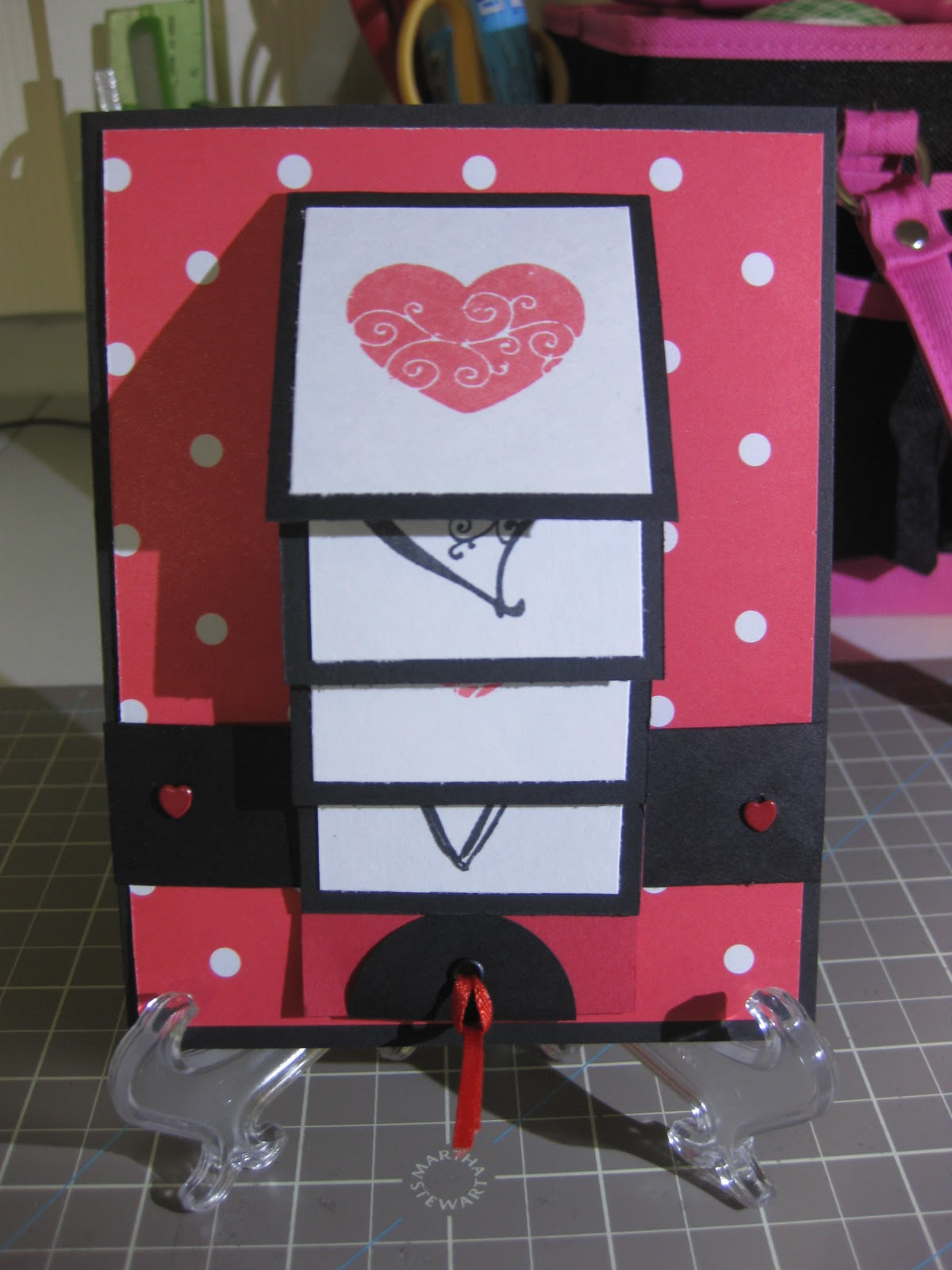 My Cricut Addiction Valentine Waterfall Card – Cricut Valentines Cards
