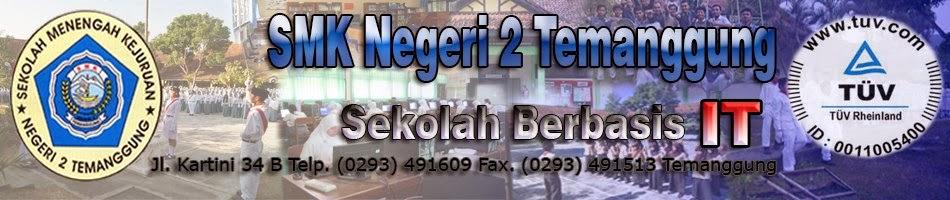 Website Resmi SMK Negeri 2 Temanggung
