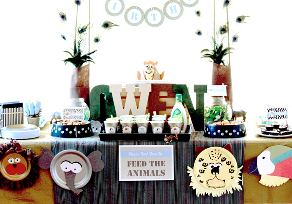 Decorating Ideas > Party Frosting ZooSafari Party Theme ~ 200332_Birthday Party Ideas Zoo Animals