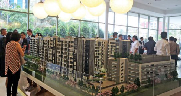 AXIS Residences - The airport condo block opens officially