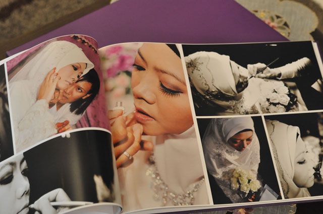Hasil makeup pengantin Jun 2011