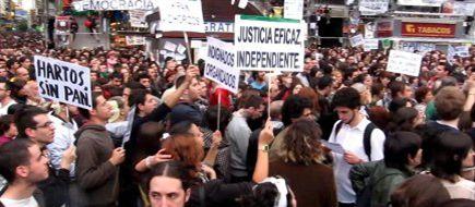 Protestos/Espanha: Começam manifestações, sem incidentes mas com grande aparato policial