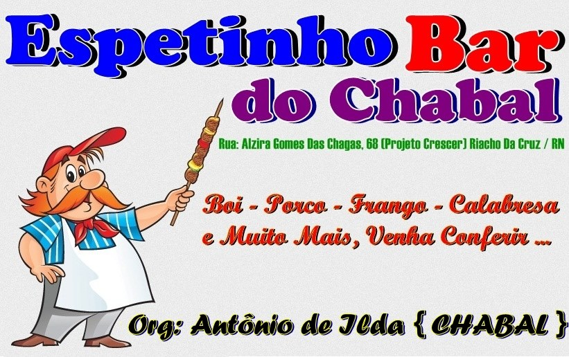 ESPETINHO BAR DO CHABAL