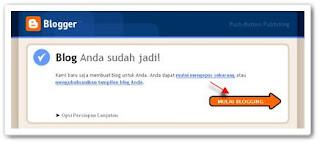 panduan lengkap membuat blog di blogspot