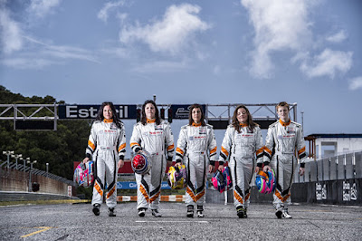 H Lucile Cypriano περιγράφει την αίσθηση στο τιμόνι ενός SEAT Leon Cup Racer
