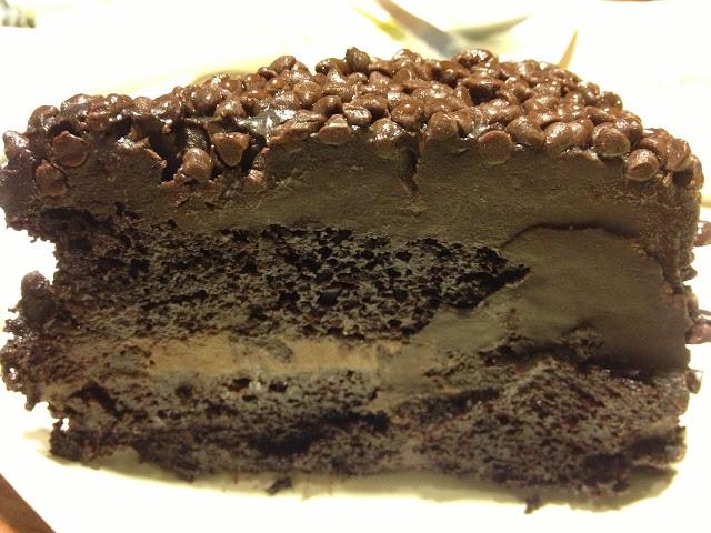 The Blackout Chocolate Cake by Poco Deli
