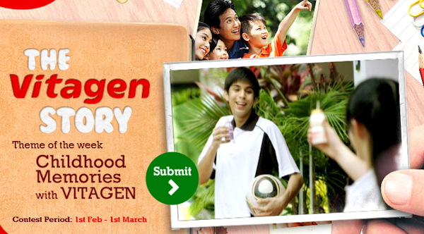 'The Vitagen Story' Contest