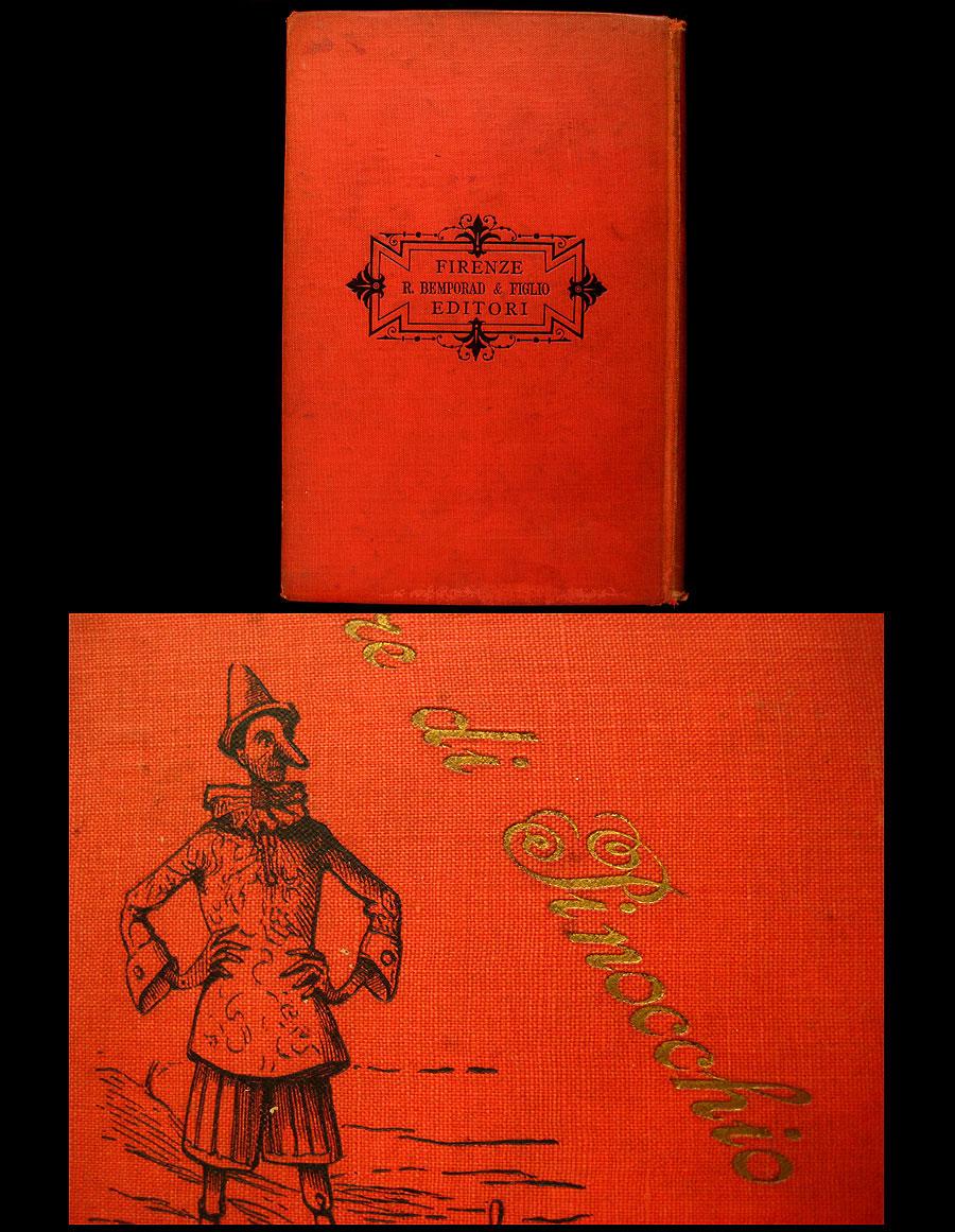 Isfive Antiquarian Books  1900 Le Avventure Di Pinocchio Da C  Collodi