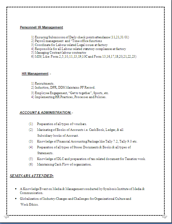 resume co sle of an ideal resume of mba finance