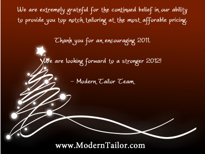 Dress shirts moderntailor custom tailored shirts online holiday holiday greetings and best wishes for all modern tailor customers m4hsunfo