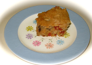 Step by Step in the kitchen: Apple-Raisin Bars with Red ...