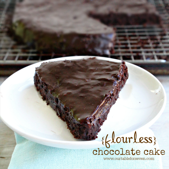 {flourless} Chocolate Cake