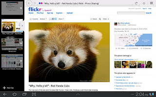 Aplikasi Mozilla Firefox untuk Android