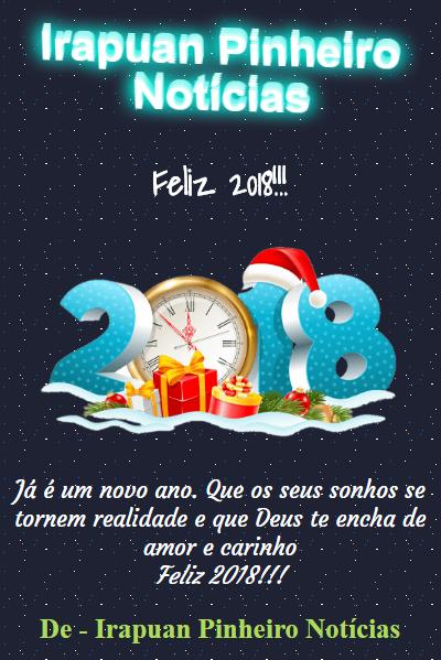 Feliz Ano Novo! Feliz 2018!