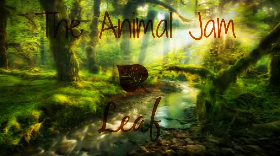 The Animal Jam Leaf