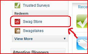 How to order an Amazon Gift Card on Swagbucks Go+to+swagstore