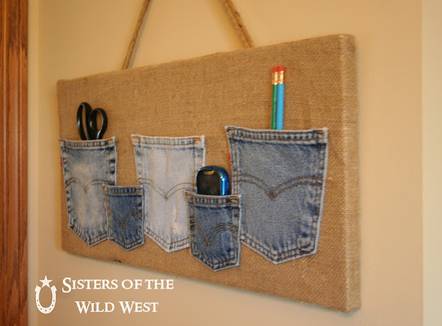 mixed rags upcycled denim