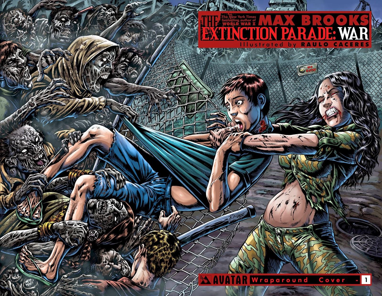 Cover tratta dalla seconda serie di The Extinction Parade: War