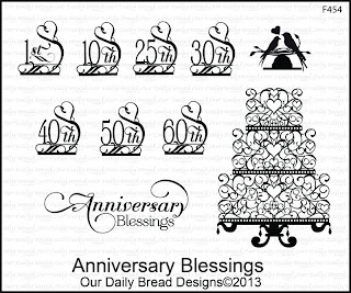 Stamps - Our Daily Bread Designs Anniversary Blessings