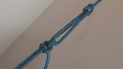 Truckers' hitch tied using a slip knot