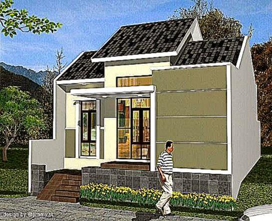 Model Rumah Minimalis Type 54 Tingkat 2 Lantai 2015   Prathama