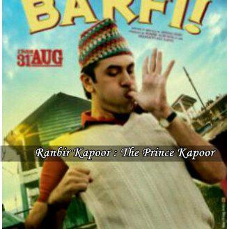 Ranbir Kapoor's upcoming movie 'Barfii' First Look Poster ...