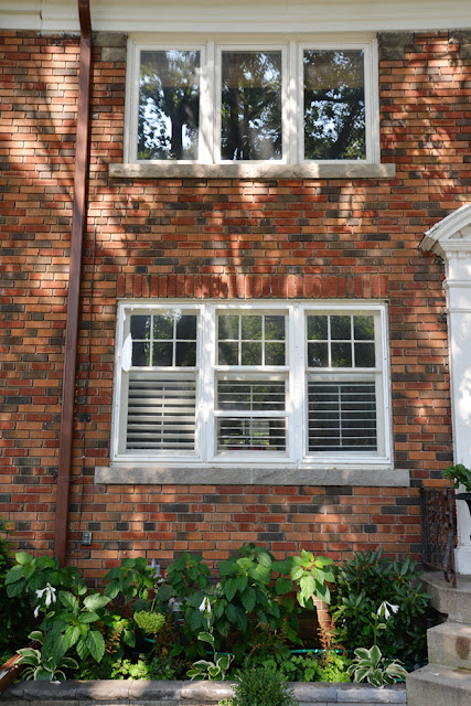 window plantation shutters exterior six over one