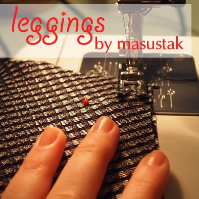 Sew along leggings