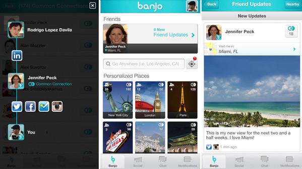 banjo app geolocalizzazione