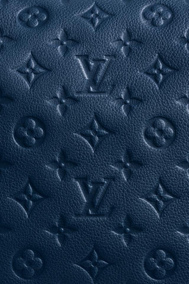 Louis Vuitton Blue Iphone 4 Wallpaper Pocket Walls