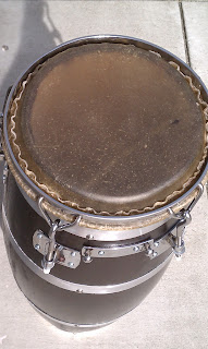 Drum skins for bongos and conga