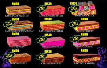 Aneka Pilihan Kek Lapis Asma's Cake House !