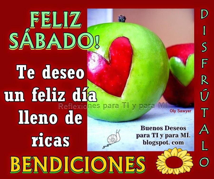 Te deseo un feliz día lleno de ricas BENDICIONES  Disfrútalo !!!