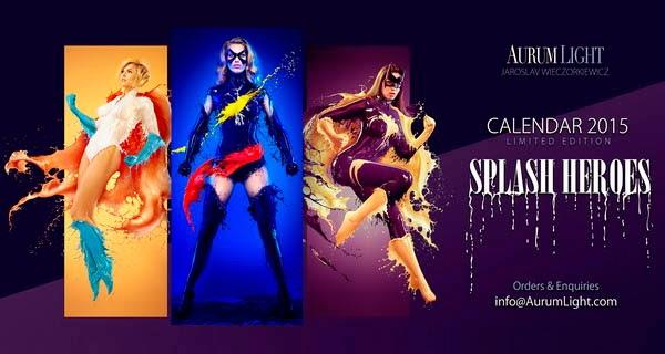 Splash Heroes Calendar