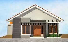 Desarin rumah minimalis mungil sederhana