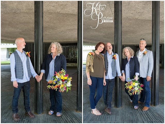 secret elopement, newcastle wedding, newcastle civic centre wedding, katie byram photography, cosmic flower shop, alternative wedding, surprise wedding, quirky wedding, wildflower wedding, wildflower bouquet, married in 2015 sign, sue and flemming wedding,