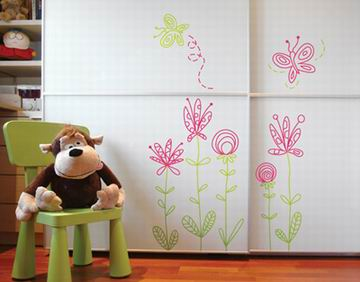 Aprender hacer bricolaje casero julio 2011 for Vinilos para armarios infantiles
